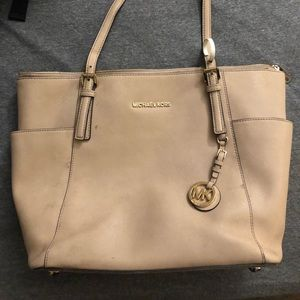 Tan Michael Kors Purse